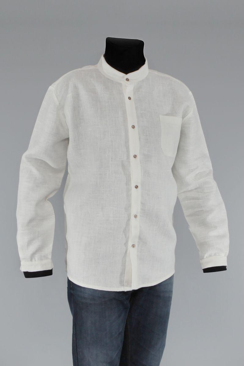 893d6d14bd Męskie tuniki lniane · Męskie koszule lniane